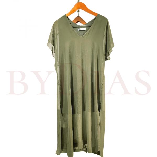 Preloved Baju: Dress Zara Hijau