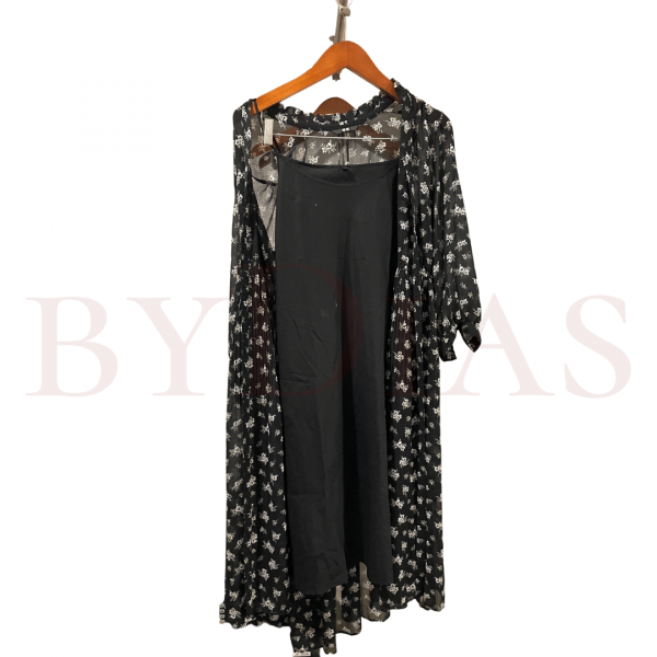 Preloved Baju: Dress Uniqlo Hitam